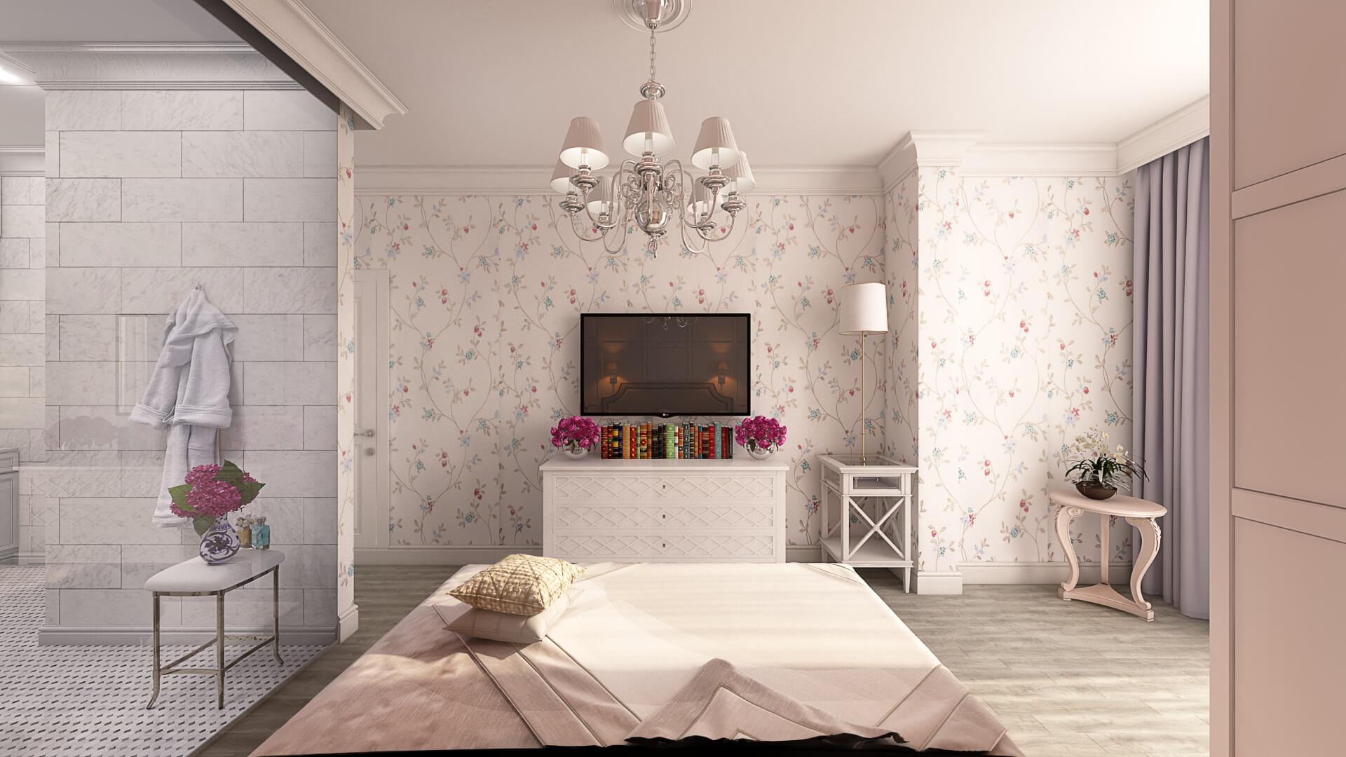 Проект Бульвар Фонтанов квартира 9
