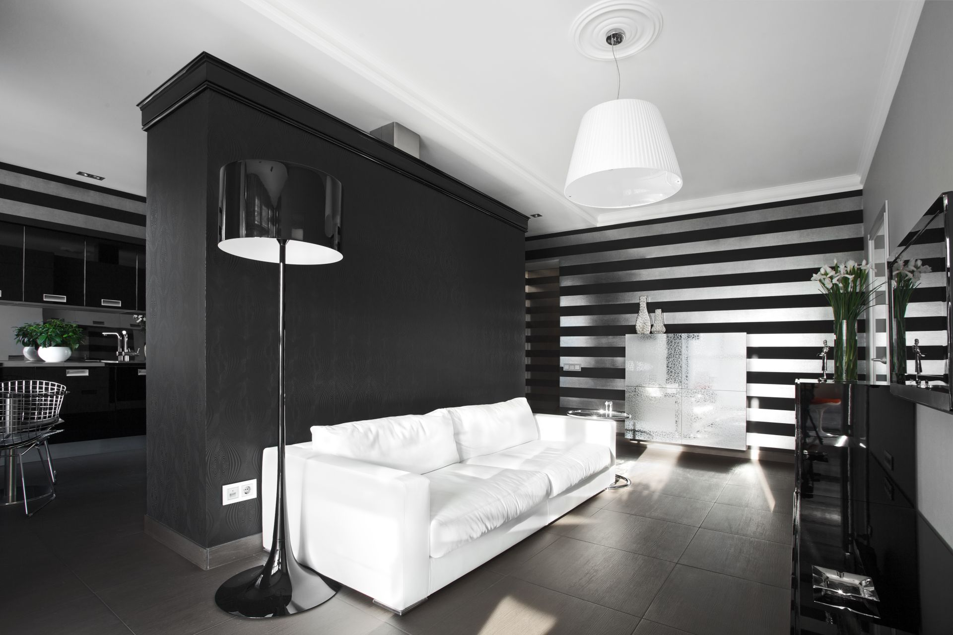 Квартира в темных тонах DARK-03