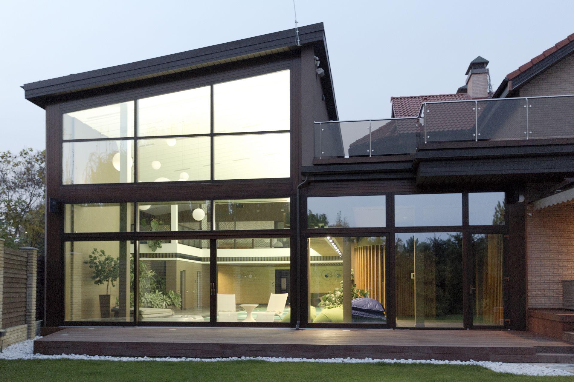 Проект загородного дома HOME
