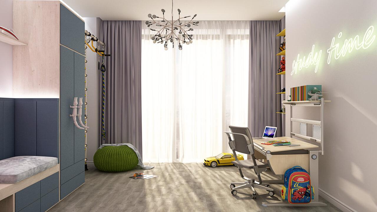 Проект Бульвар Фонтанов квартира detskaya-07