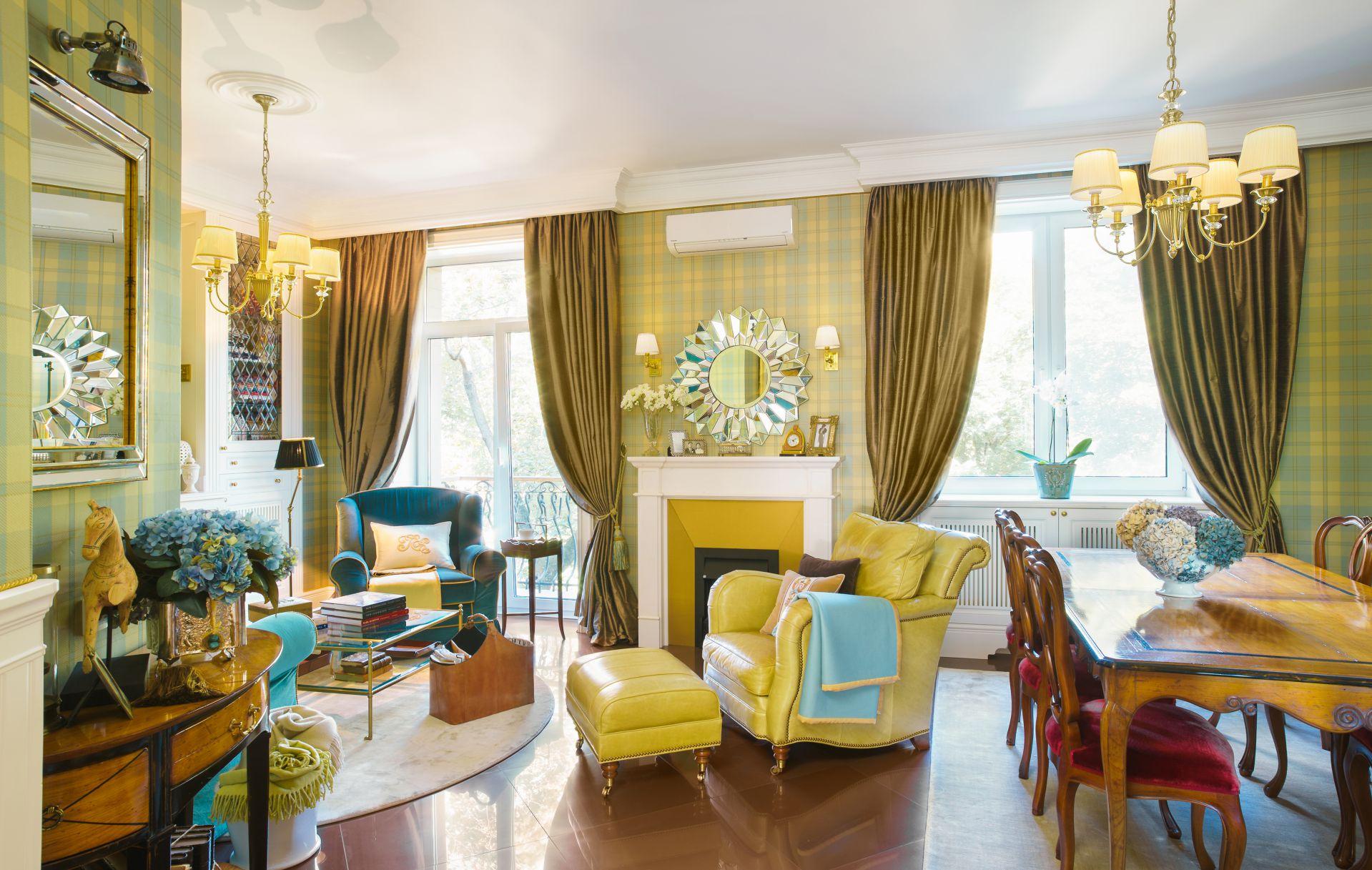 Интерьер в Английском стиле interior-0001