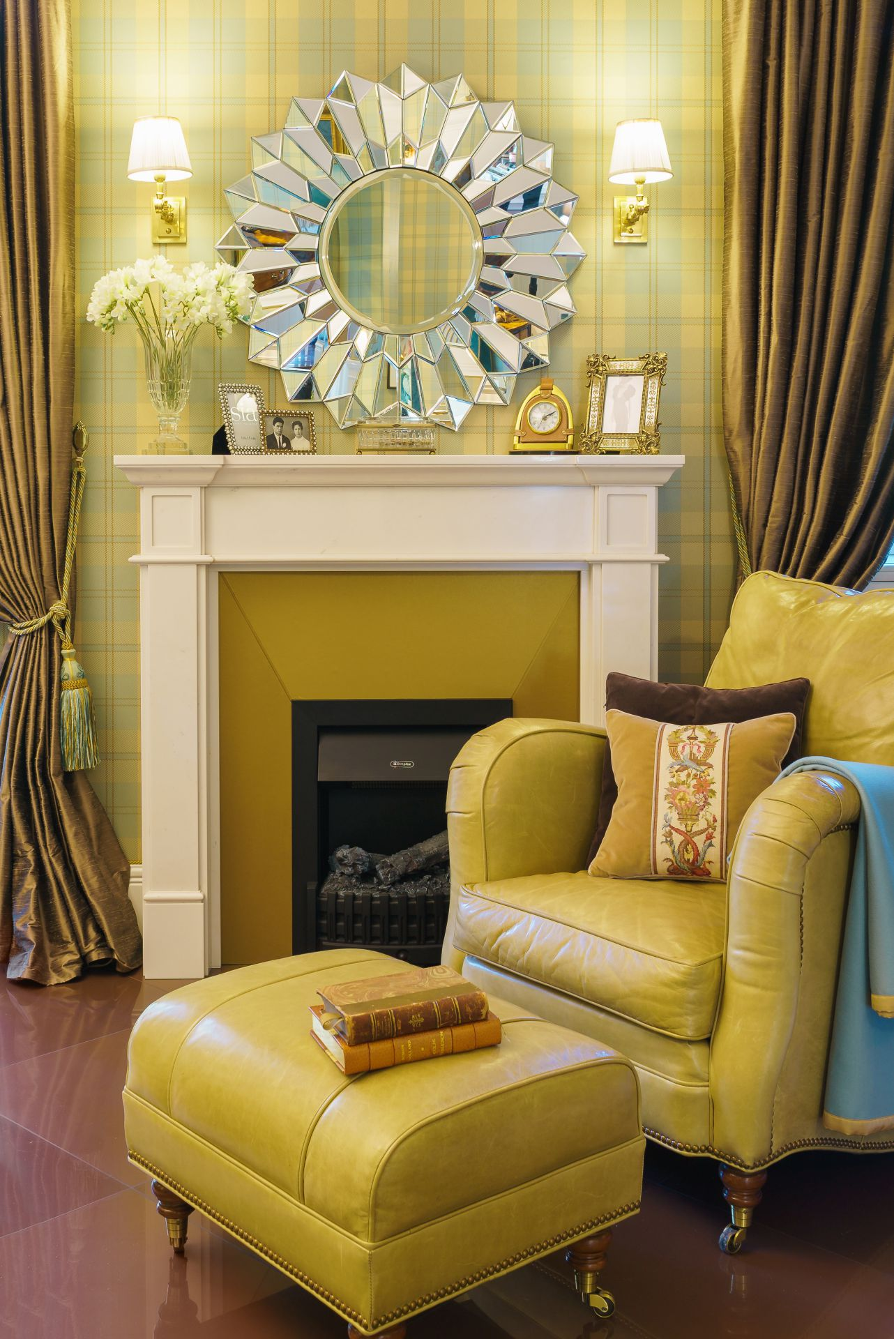 Интерьер в Английском стиле interior-0002