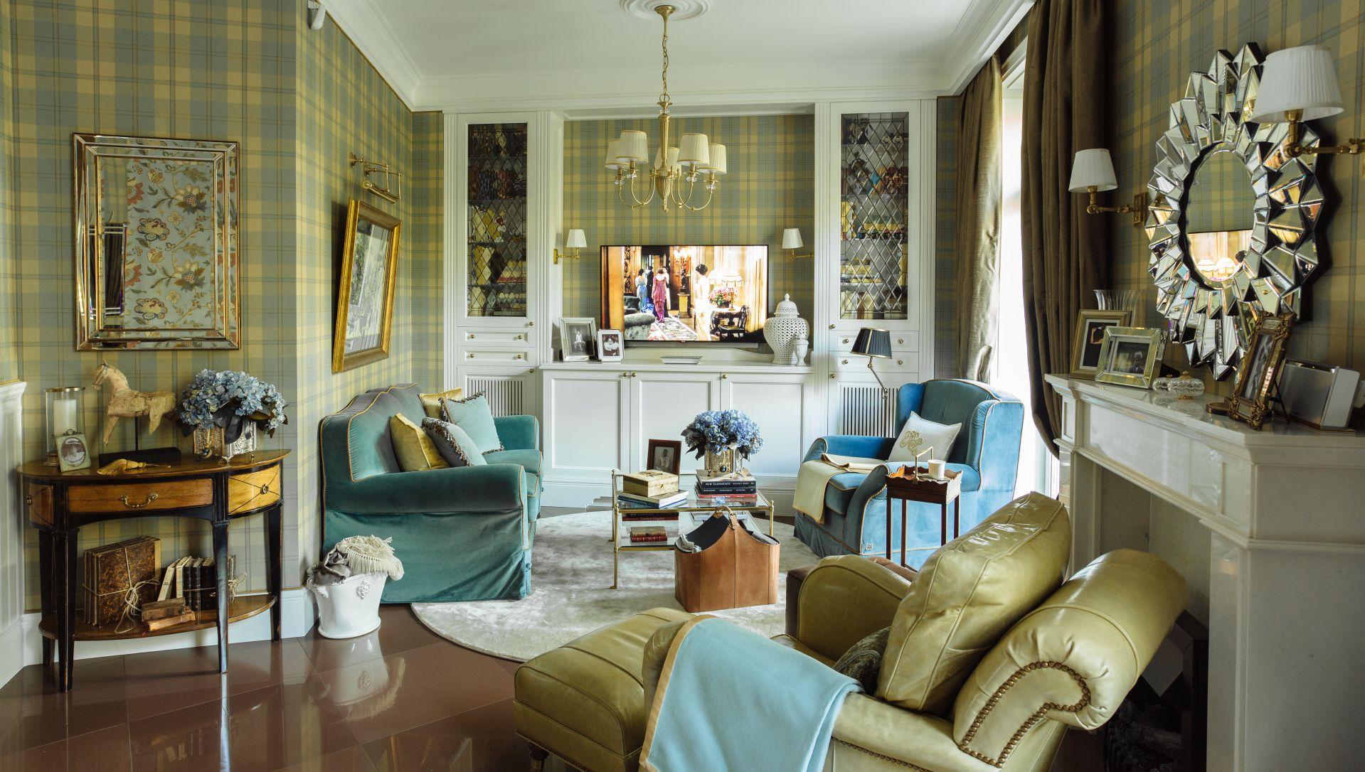 Интерьер в Английском стиле interior-0004