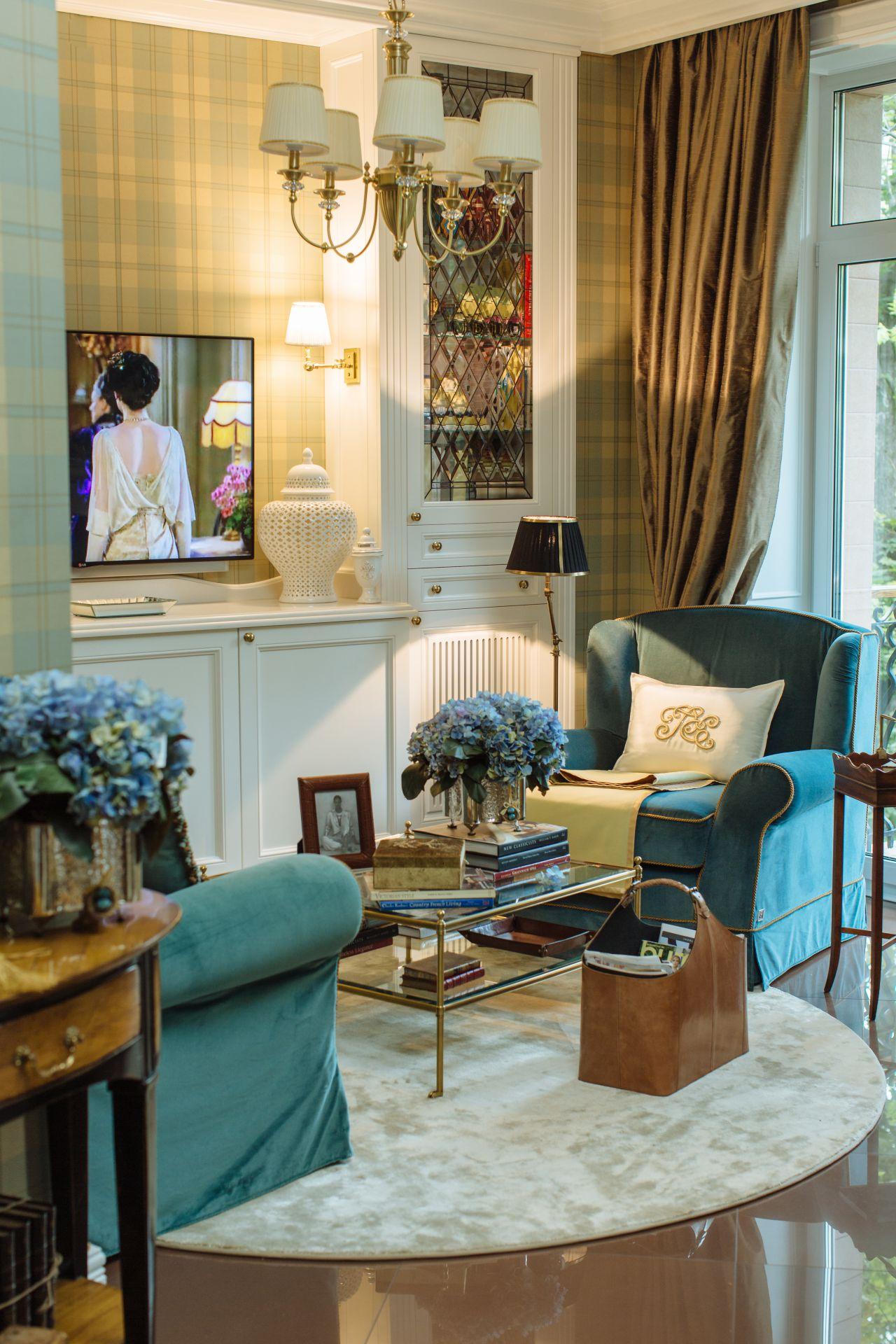 Интерьер в Английском стиле interior-0006