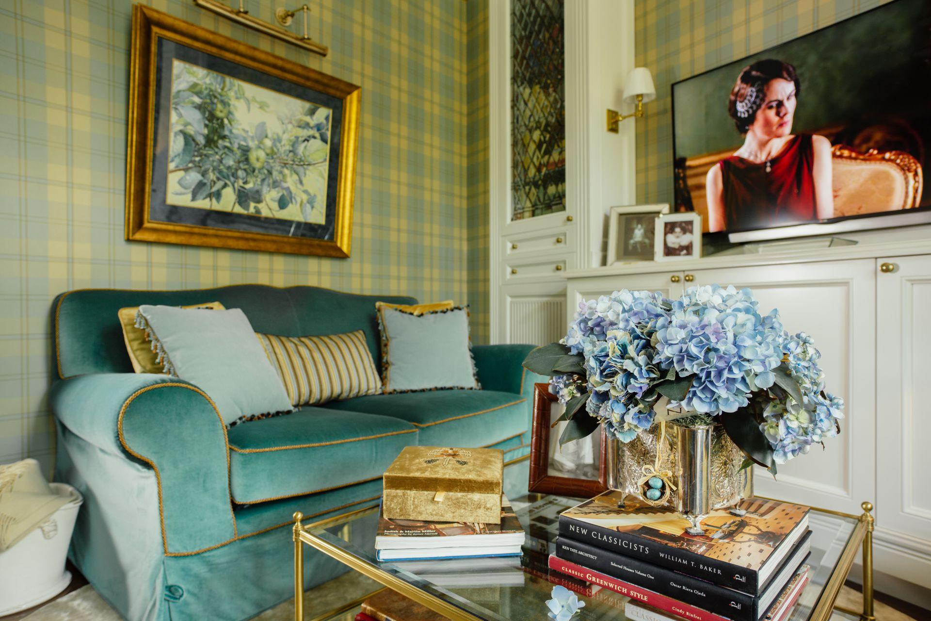 Интерьер в Английском стиле interior-0008