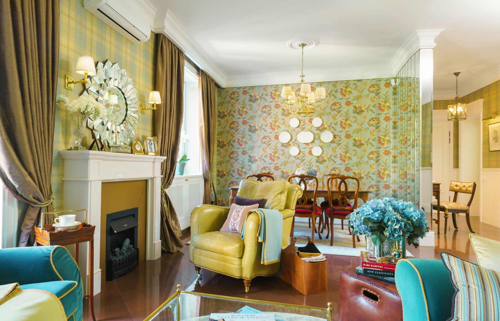 Интерьер в Английском стиле interior-0009