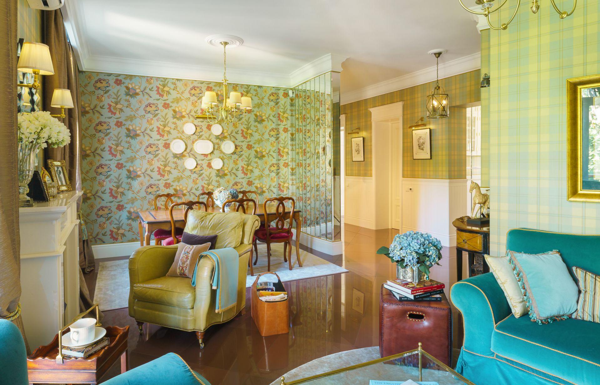 Интерьер в Английском стиле interior-0010