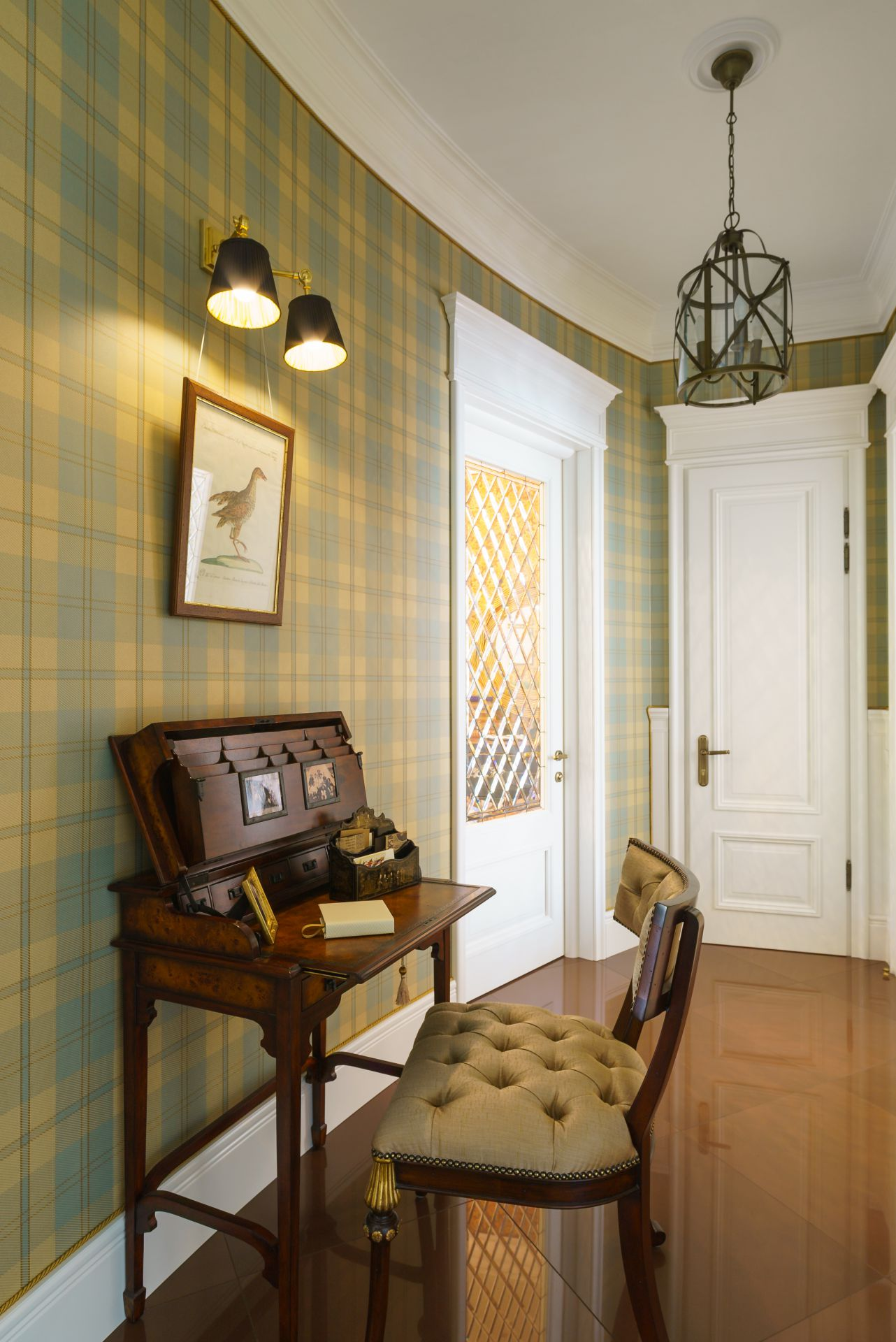 Интерьер в Английском стиле interior-0017