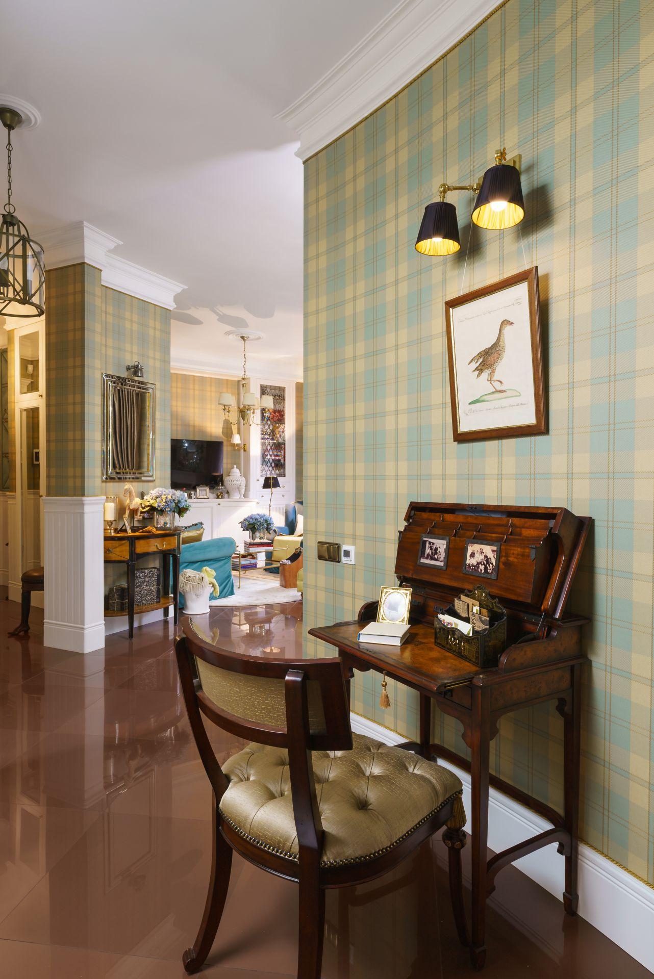 Интерьер в Английском стиле interior-0018