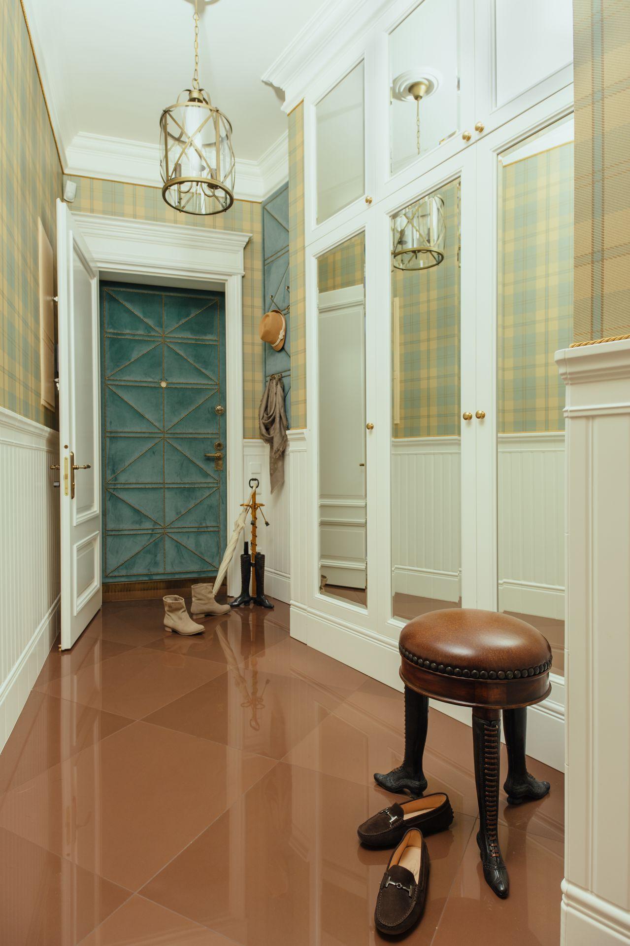 Интерьер в Английском стиле interior-0018a
