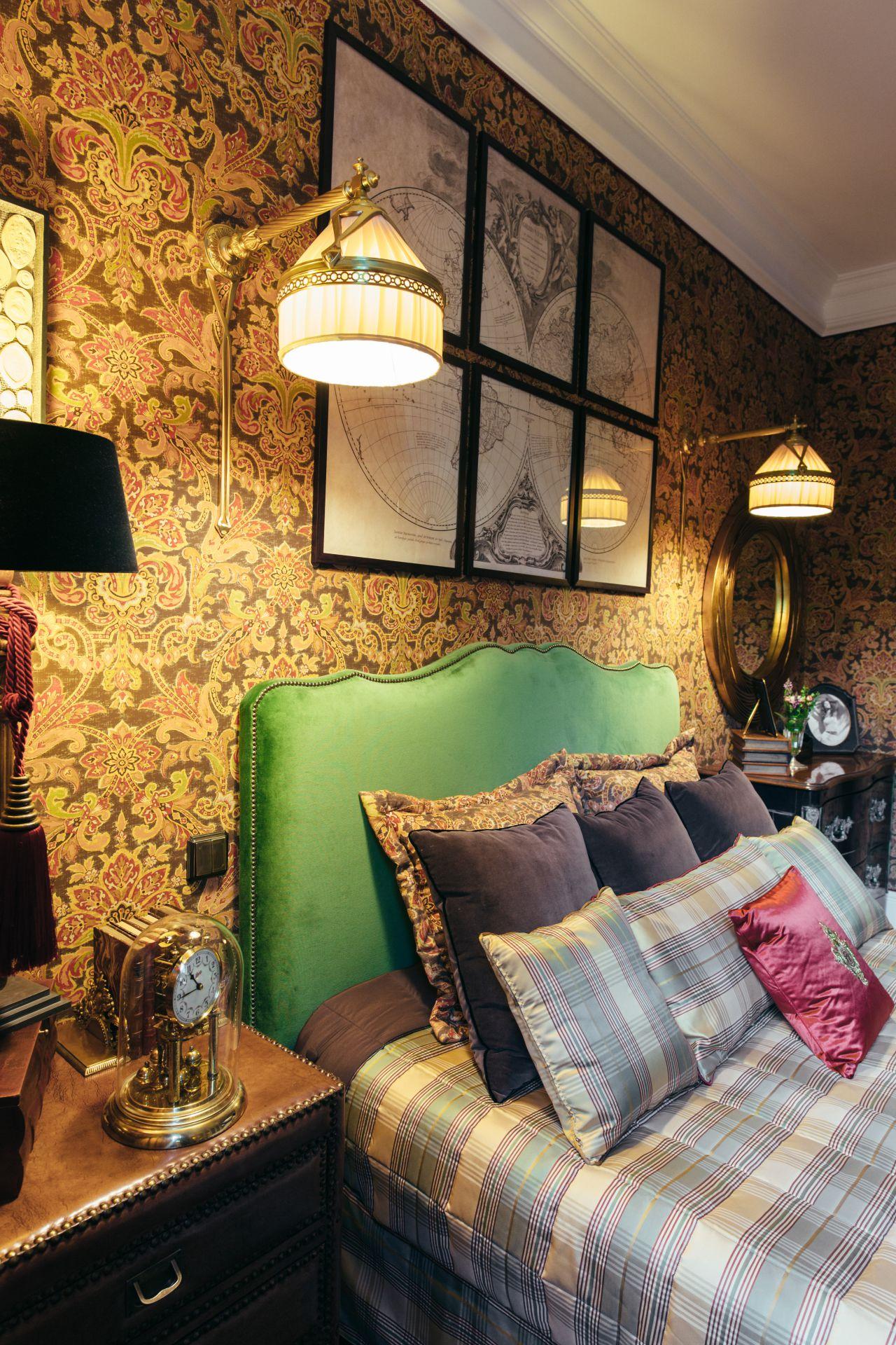 Интерьер в Английском стиле interior-0027