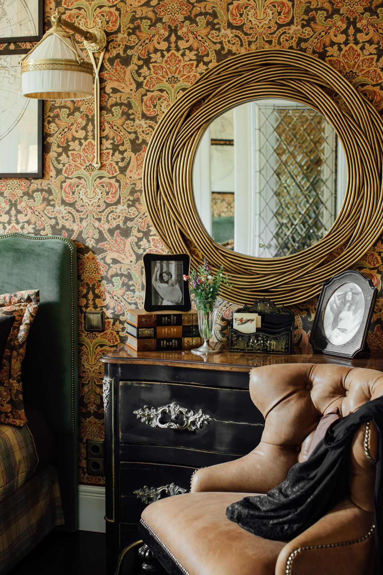 Интерьер в Английском стиле interior-0030