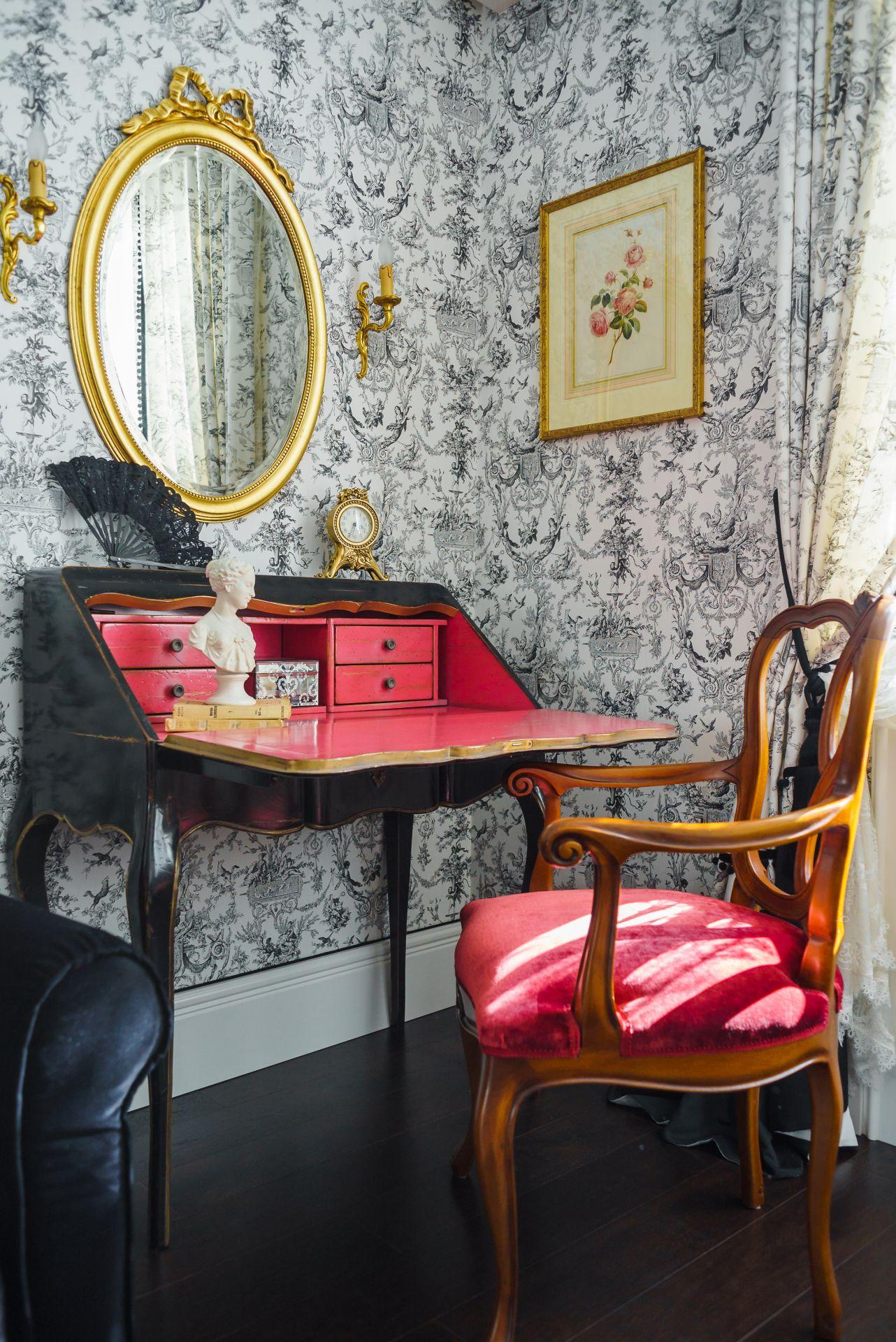 Интерьер в Английском стиле interior-0035