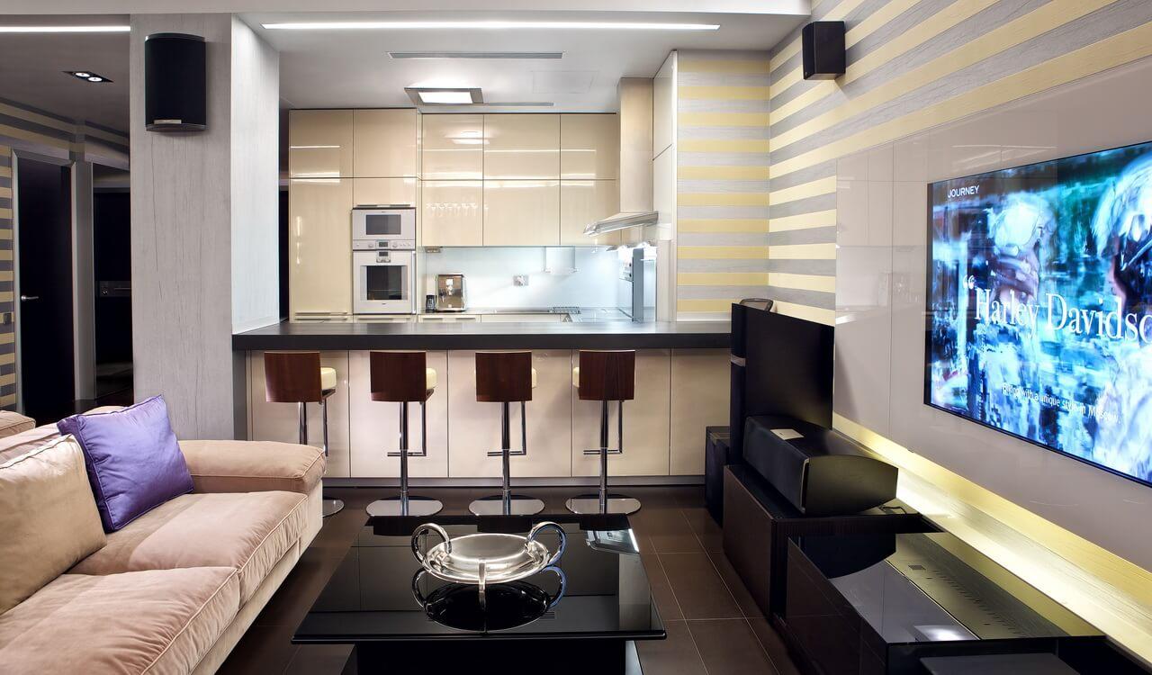 Гостиная в пентхаусе penthouse2