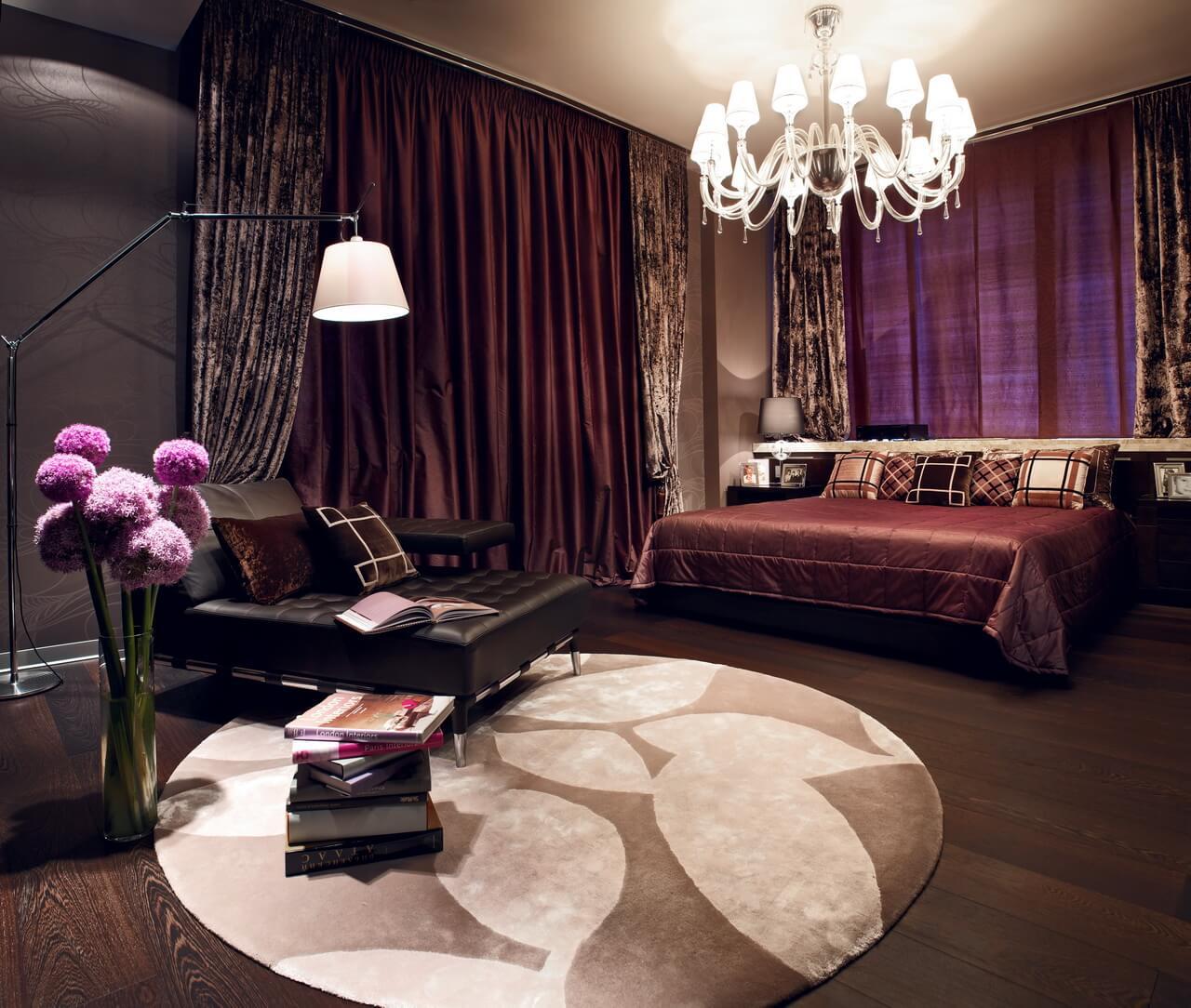Гостиная в пентхаусе penthouse9