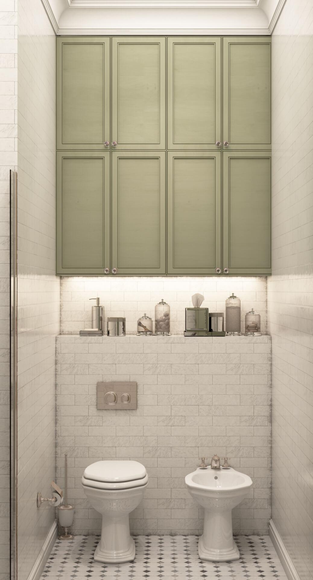Проект Бульвар Фонтанов квартира vanna_5